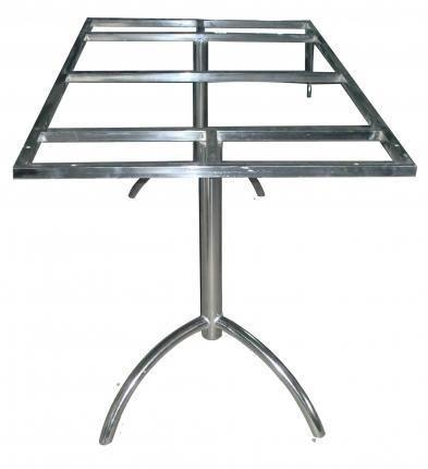 Stainless Steel Dining Table Frame - Teja Sri Enterprises, Hyderabad ...