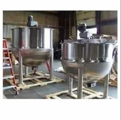 Industrial Steam Jacketed Kettles