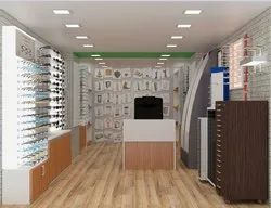 Optical Showroom Interior Design and Execution - New