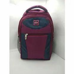 Pu Ladies Plain College Bag