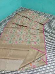 Benarasi Cotton Silk Saree
