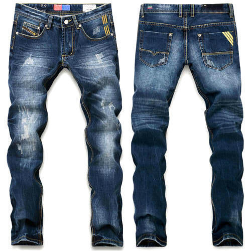 Stretchable Mens Rugged Jeans
