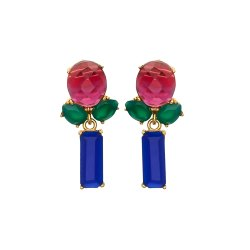 Multi Gemstone Earring