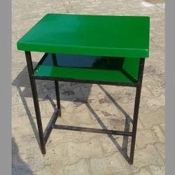 Single Examination Desk in Green