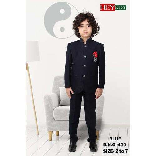 eebd12ce5 Blue Boys Party Wear Suit