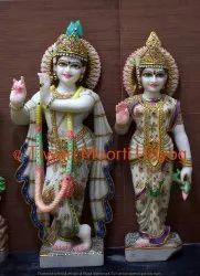 Marble Murali Krishna Statue
