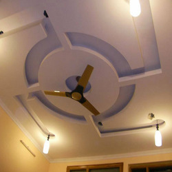 Gypsum False Ceiling Service