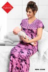be3ba1f939 Ladies Maternity Nighty at Rs 220 /piece | मैटरनिटी ...