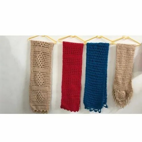 Hand Knitted Ladies Muffler