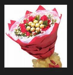 Ferrero Rocher and Rose Birth Day Bunch