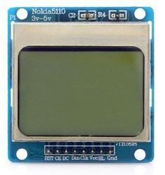 Nokia 5110 Liquid Crystal Display Module for Arduino