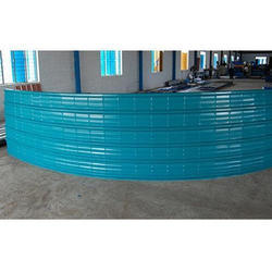 Crimping Roofing Sheets