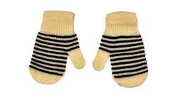 Striped Soft Woolen Gloves