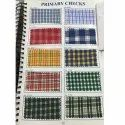 200 GSM Check Uniform Fabric