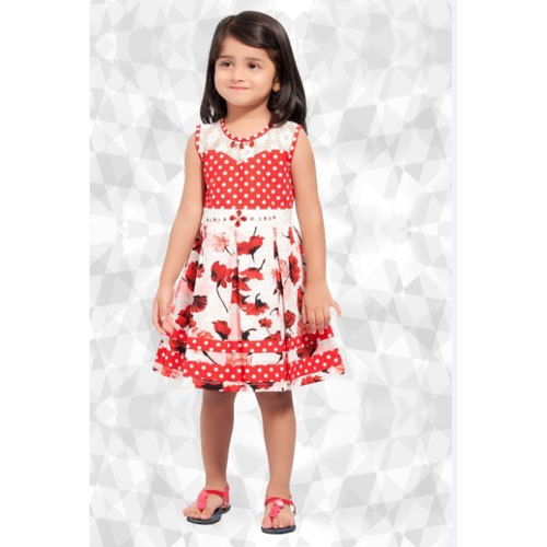 879a89c28710 Be Kids Cotton Kids Girl Dotted Frock, Rs 450 /piece, Be Kids | ID ...