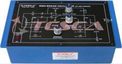 Wien Bridge Oscillator Trainer