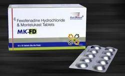 Fexofenadine Hydrochloride 120 mg & Montelukast 10 mg