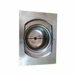 Plain Rectangular Stainless Steel Die, Packaging Type: Wooden Box