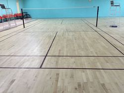 Matte Finish Air Cush Wooden Sports Flooring