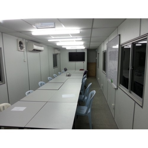 Portable Container With AC Room