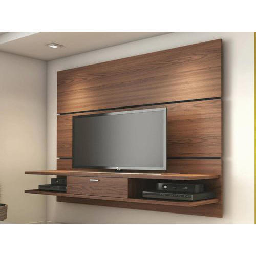 Wooden Wall Units For Living Room: Wooden Frame Living Room TV Wall Unit, Width: 18 Inch, Rs