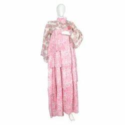 10 Cotton Hand Printed Women's Long Dress India DB25