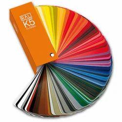 RAL Shade Card K5