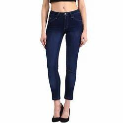 Skinny Stretchable Ladies Denim Jeans