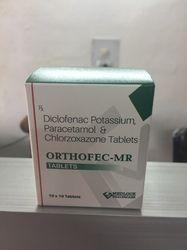 Diclofenac Potassium 50mg Paracetamol 325mg Chlorzoxazone 25