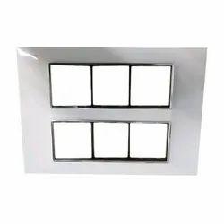 Polycarbonate Rectangular Designer Modular Switch Plates