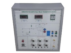 Unrestricted Earth Fault Relay Trainer With Source