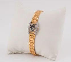 AC007 Ladies Gold Watch