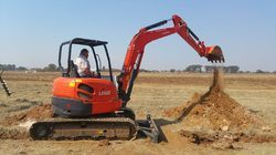 Mini Excavator Kubota 3 Ton Class Machine