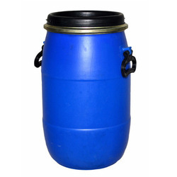 Blue Open Top Chemical HDPE Drum, Capacity: 30-210ltr