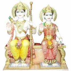 Bedi White Marble Ram Sita Statues, Rs 39000 /piece, Pravesh