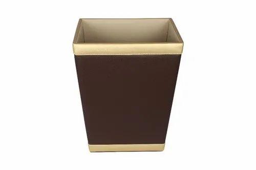 Leatherette Waste bin