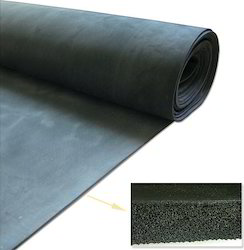 Natural Sponge Rubber Sheet