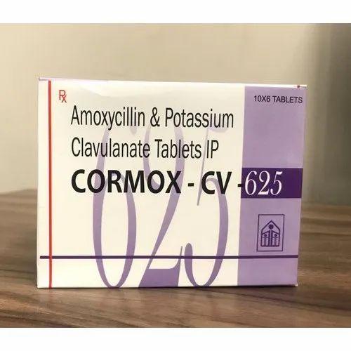 Cormox Cv 625 (Amoxycillin And Potassium Clavulanate Tablets Ip)