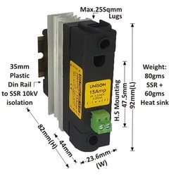 15 AMP MOSFET DC TO DC SOLID STATE RELAY