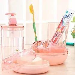 Multi Color Gloss Bathroom Set, Quantity Per Pack: 20