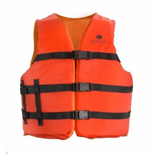 Orange Nylon Life Jacket, for swimming pool, Rs 1500 /piece R.A. Verma |  ID: 20222916297