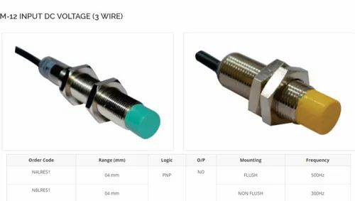 DOLPHIN Cylindrical INDUCTIVE PROXIMITY SENSOR/SWITCH, Model Name/Number: M12
