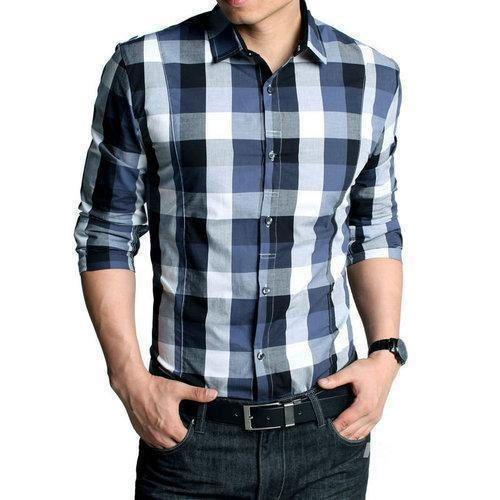 Mens Fancy Check Shirts, Men Check Shirts - Pari Style Wear ...