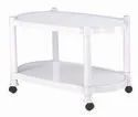 White H525 W465 L800 Plastic Table 9507, Weight: 3.02kg