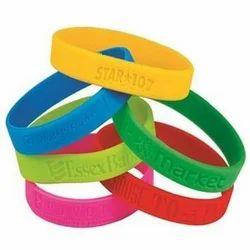 Customized Rubber Wrist Band