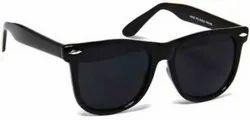 Casual Wear Wayfarer Black Mens Sunglasses