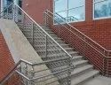Polished Stainless Steel Pipe Railings