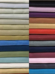 Cotton Plain Blackout Curtain Fabric for Sun Light