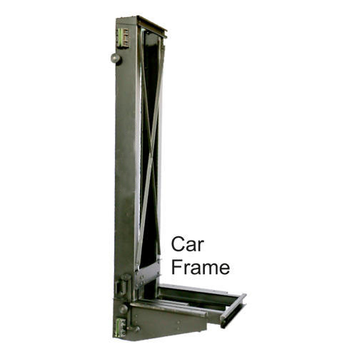 Elevator Car Frame, Usage: Household, Industrial Premises, Office ...