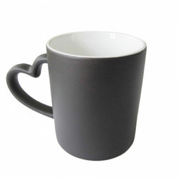 Heart Handle Color Changing Mug